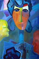 Contemplation Oil on Canvas