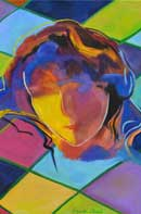 Harlequin Oil on Canvas