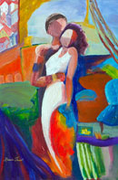 Embrace 2 Oil on Canvas
