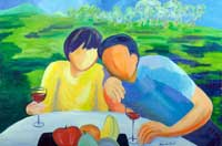 Peaceful Afternoon Oil on Canvas