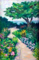 Path to the Beach Oil on Canvas