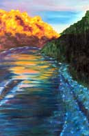 The River Oil on Canvas