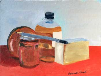 Still life with Browns painting