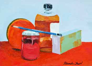 Still Life with Reds